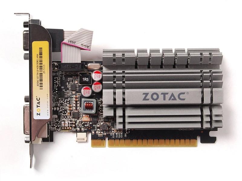 ZOTAC NVIDIA GEFORCE GT 730 4GB DDR3 4 GB DDR3 Graphics Card