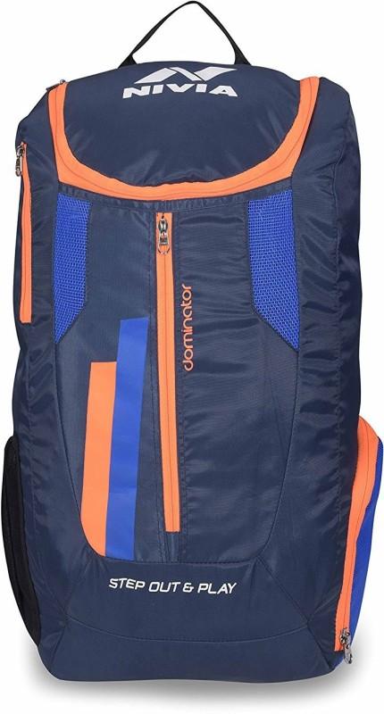 Nivia Dominator Junior Backpack(Blue, Backpack)