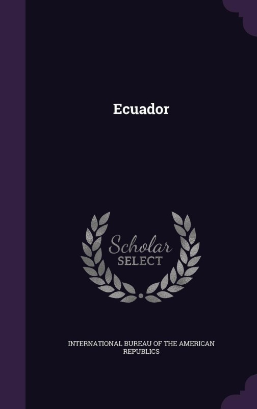 Ecuador(English, Hardcover, unknown)