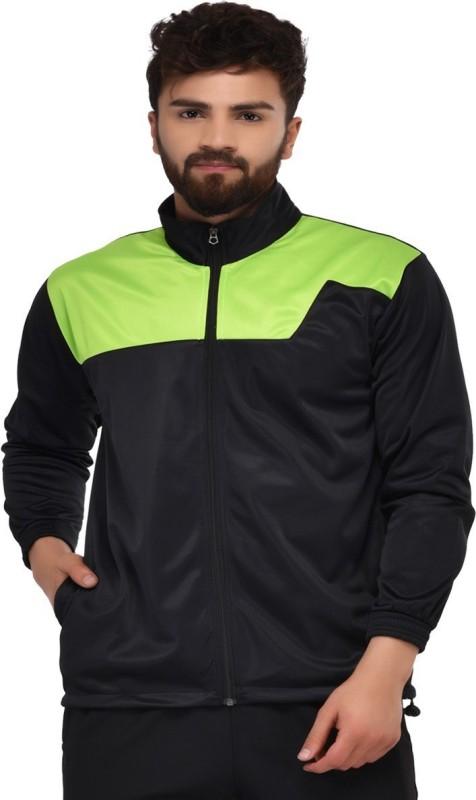 Gag Full Sleeve Solid Men Sports  Jacket