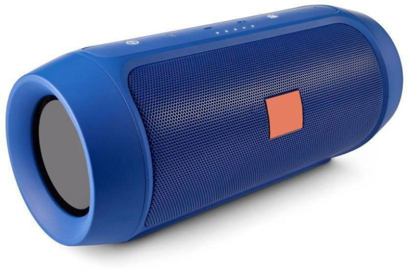 CASVO Charge-2 Plus Bluetooth HIGH Bass 3D Sound Wireless Portable Waterproof Bluetooth Mobile/Tablet Speaker 20 Bluetooth Speaker(Blue, Stereo Channel)