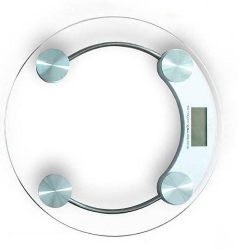 INDOSON glass body kata2154 Weighing Scale(White)