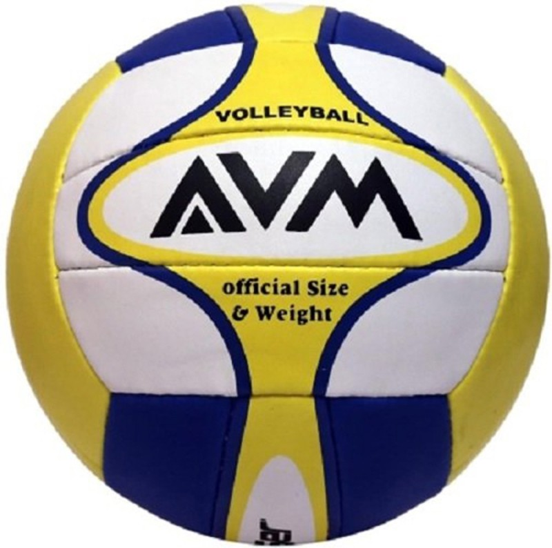 AVM Laser Volleyball - Size: 5(Pack of 1, Multicolor)