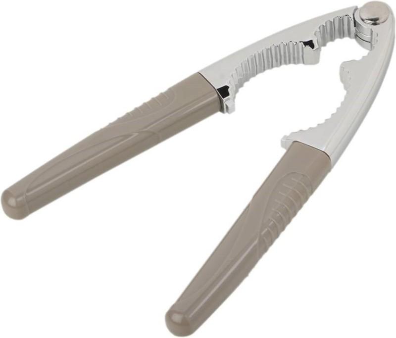 E DEAL N DISCOUNT Walnut Cracker/Cutter Walnuts Breaker For Household Kitchen Nutcracker Clamp (Grey) Steel Cracker(Grey, Silver Pack of 1)