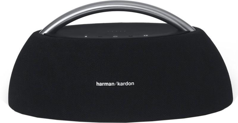 Harman Kardon HKGOPLAYMINIBLKEU 100 W Bluetooth Home Audio Speaker(Black, Stereo Channel)