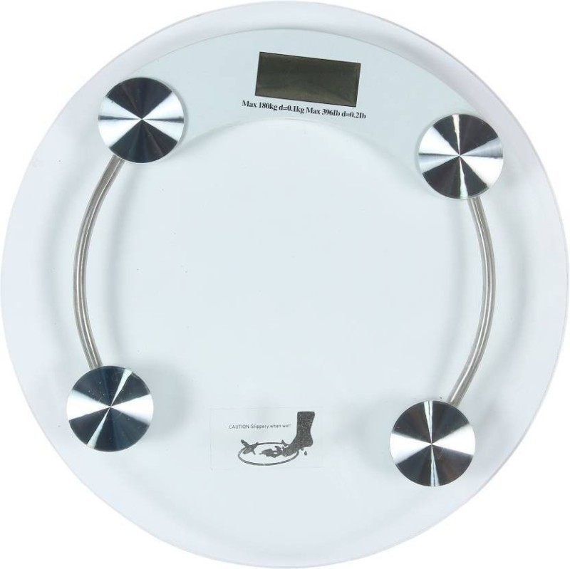 INDOSON glass_2574_kata_scale Weighing Scale(White)