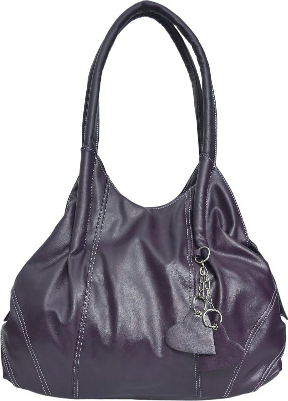 FD Fashion Soft Luggage Women Purple Hobo