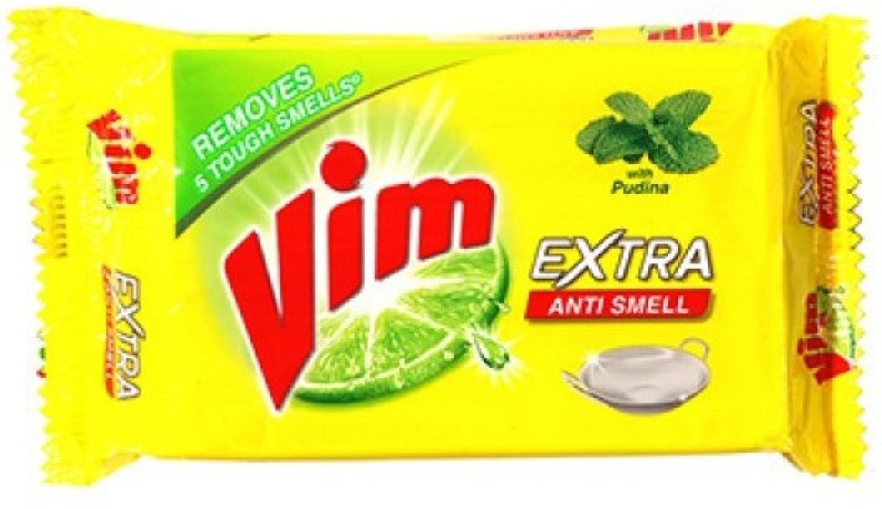 VIM ANTI SMELL BAR - 250 gm (pack of 6) Dishwash Bar(1500 g, Pack of 6)