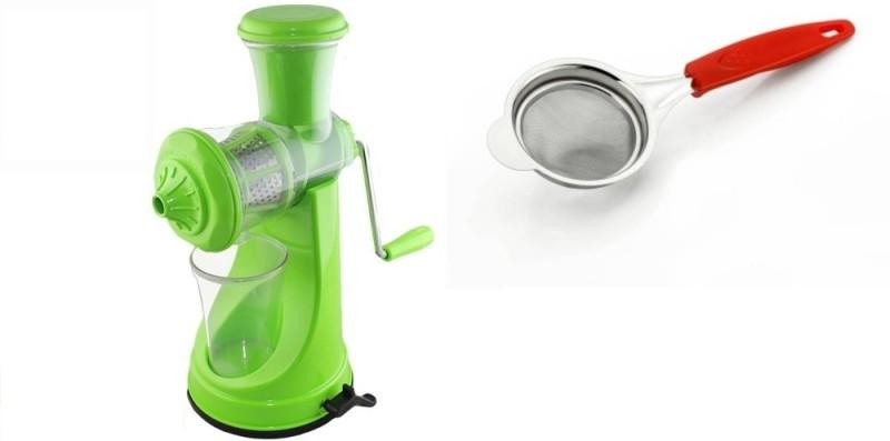 Magikware Prime Juicer With Tea Steel Strainer Kitchen Combo Kitchen Tool Set