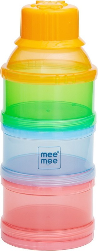 MeeMee Multipurpose Milk & Food Storage Container (Multicolor)(Pack of 1, Multicolor)
