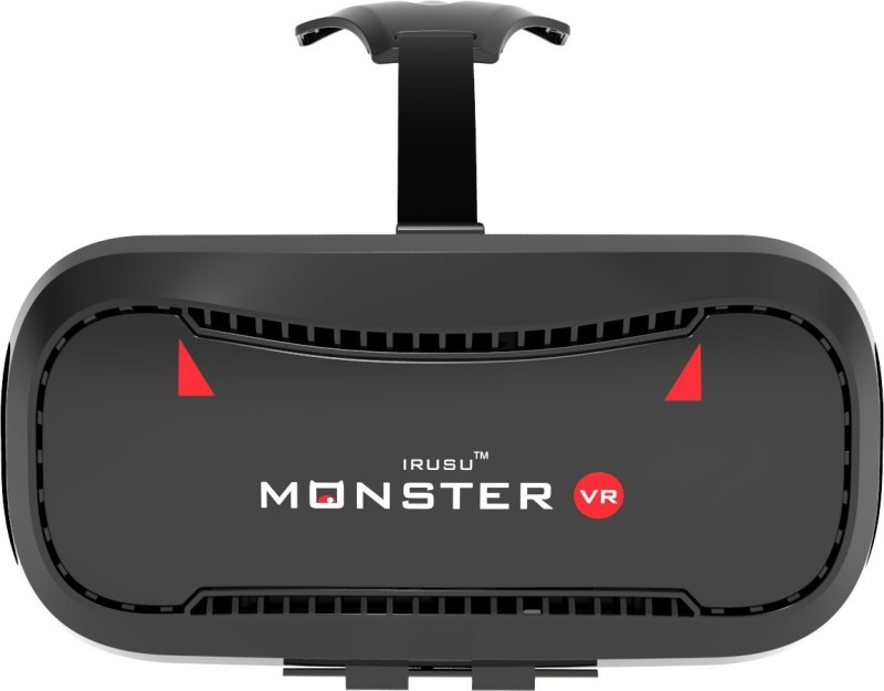 Irusu Monster vr headset Box with built in touch button virtual reality headset for all mobiles(Smart Glasses)