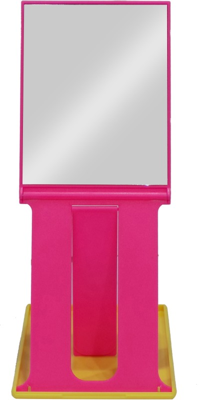 Bueno Hand Mirror For Makeup For Women And Girls, Travelling Folding Mirror Men And Women, Easy To Carry, Pack Of 1