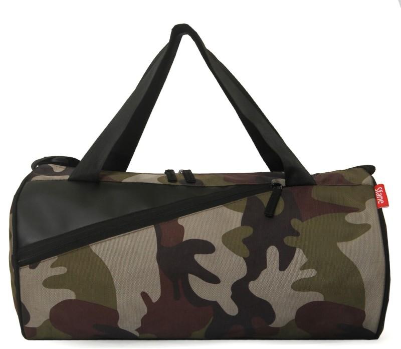 sfane Men & Women Army Sports Duffel Gym Bag(Multicolor)