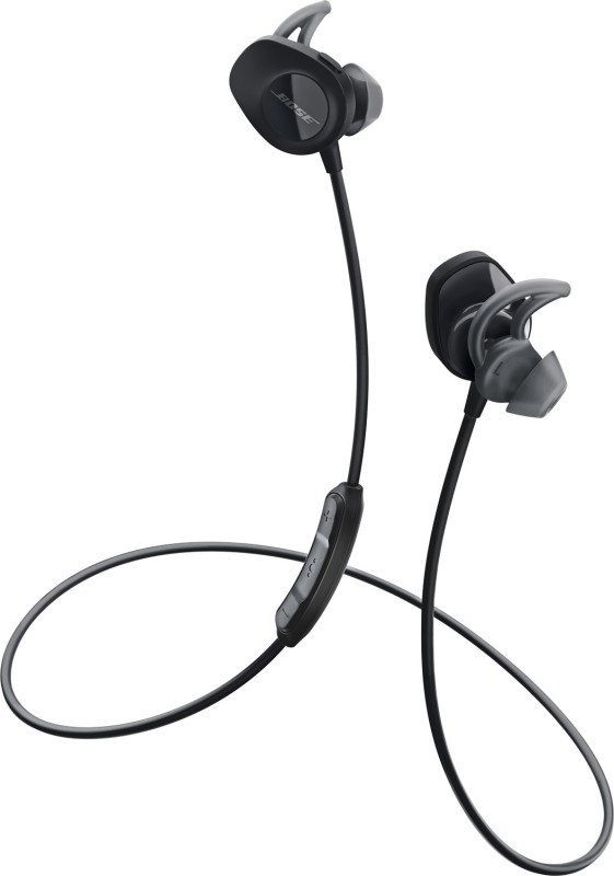 Bose SoundSport Bluetooth Headset with Mic(Black, In the Ear)