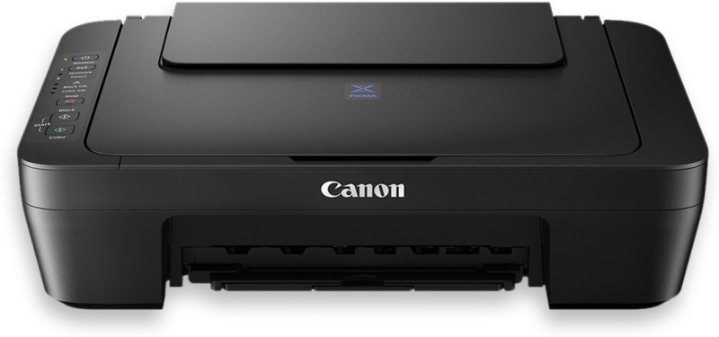 Canon Pixma E470 Multi-function Wireless Printer(White, Ink Cartridge)