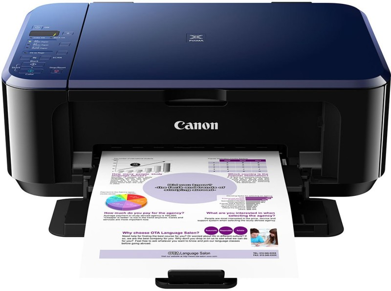 Canon PIXMA E510 Multi-function Color Printer(Black, Ink Cartridge)