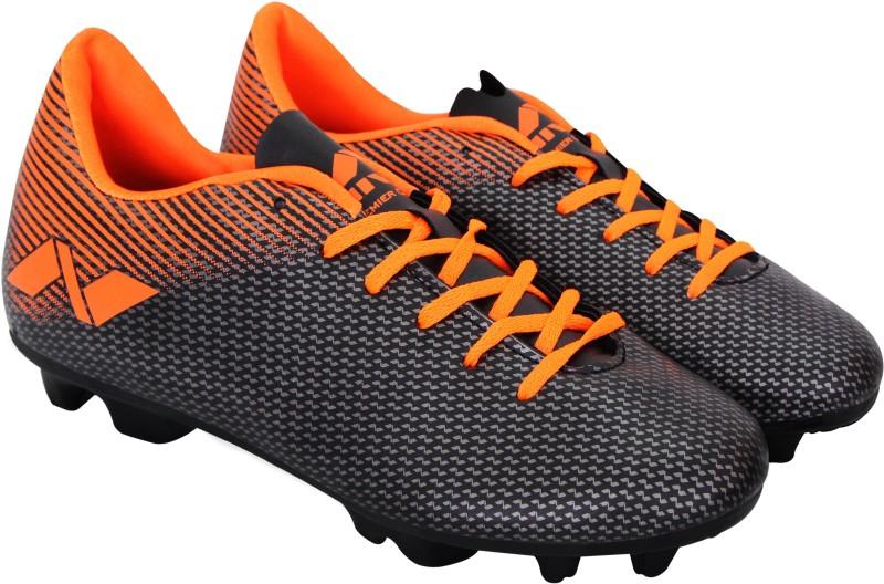 Nivia Premier Carbonite Football Shoes For Men(Orange, Grey)