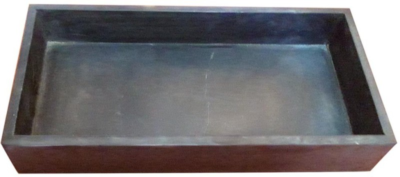 Harbedi Sandstone Multipurpose Bathroom Tray(Brown)