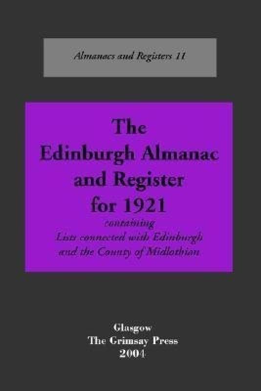 Edinburgh(English, Paperback, And Boyd Oliver)