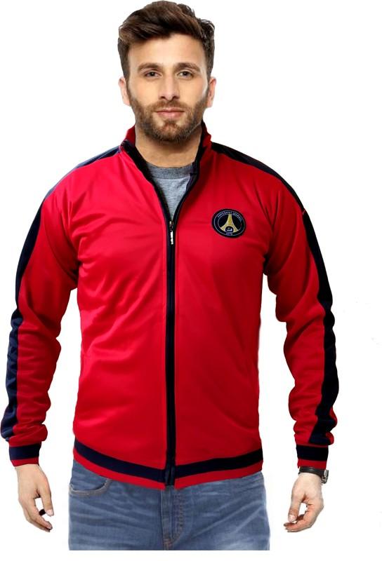 Nu Jersey Full Sleeve Colorblock Men Jacket