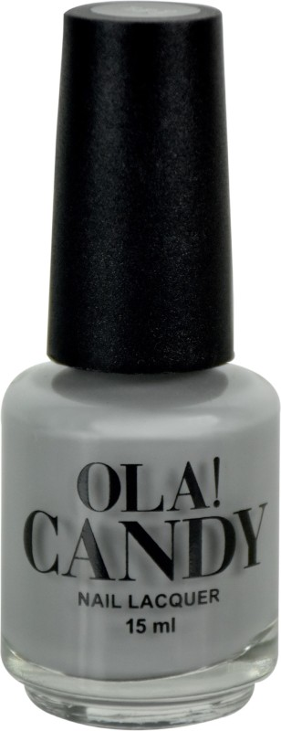 Ola Candy Grey Day Nail Polish Grey