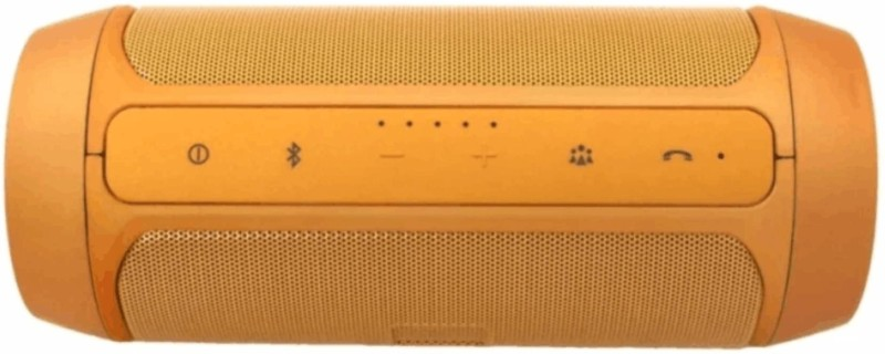 WAVE PLUS Compatible Wireless Speaker CHARGE 2plus With Super Sound Quality And Super Bass /Deep Bass And Super Surround Sound 20 W Bluetooth Speaker(Gold, 2.1 Channel)