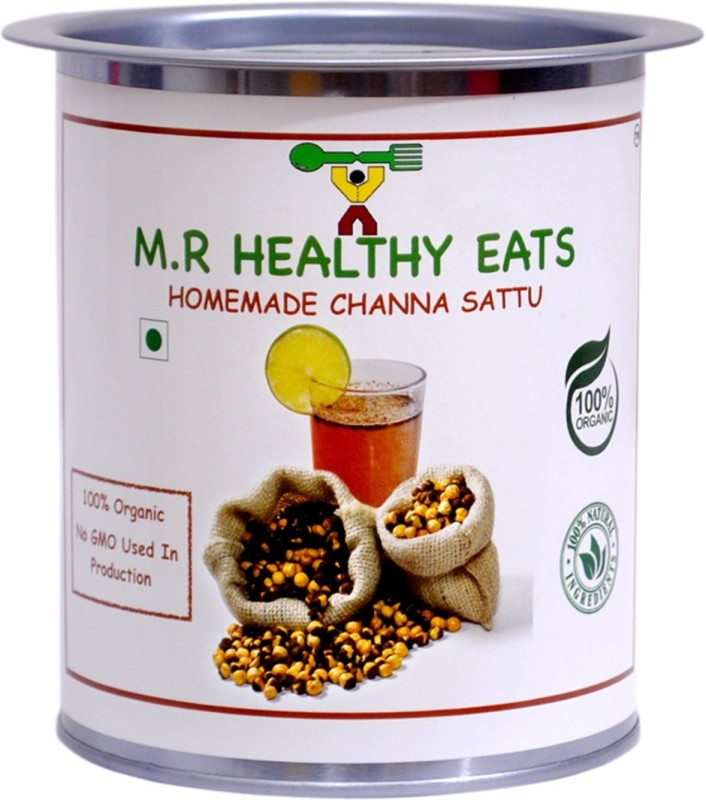 M.R Healthy Eats Organic Chana Sattu 500g Unflavored Powder(500 g)
