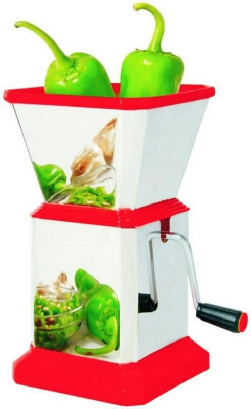 HAPPI Chilli Cutter Stainless steel chopper Vegetable & Fruit Chopper(1 Vegetable Chopper)