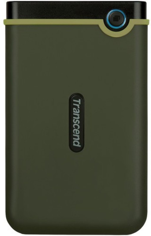 Transcend 1 TB External Hard Disk Drive(Military Green)