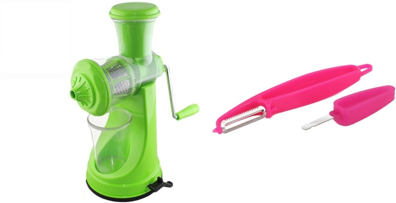 Magikware Prime Juicer Green With 4 In 1 Peeler Kitchen Combo Kitchen Tool Set