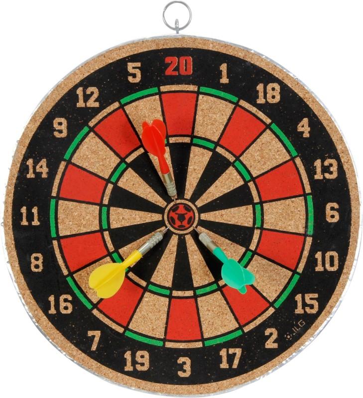 Akash Sports 16 inch 16 inch Dart Board(Multicolor)