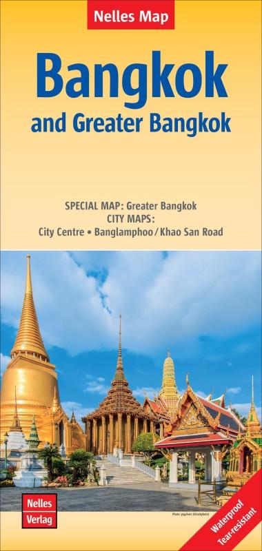Bangkok / Greater Bangkok Banglamphoo 2018(English, Sheet map, folded, unknown)