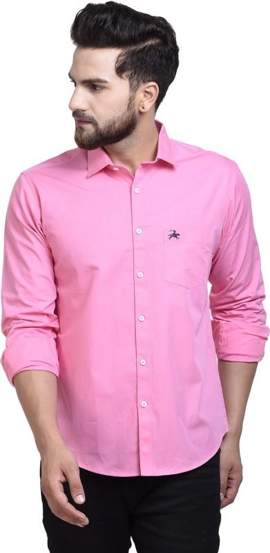 WESTLAND'S COWBOY Men Solid Casual Pink Shirt
