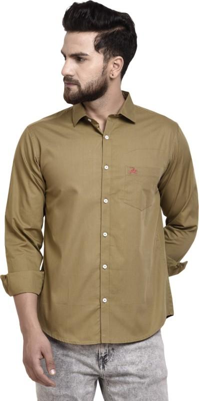 WESTLAND'S COWBOY Men Solid Casual Brown Shirt