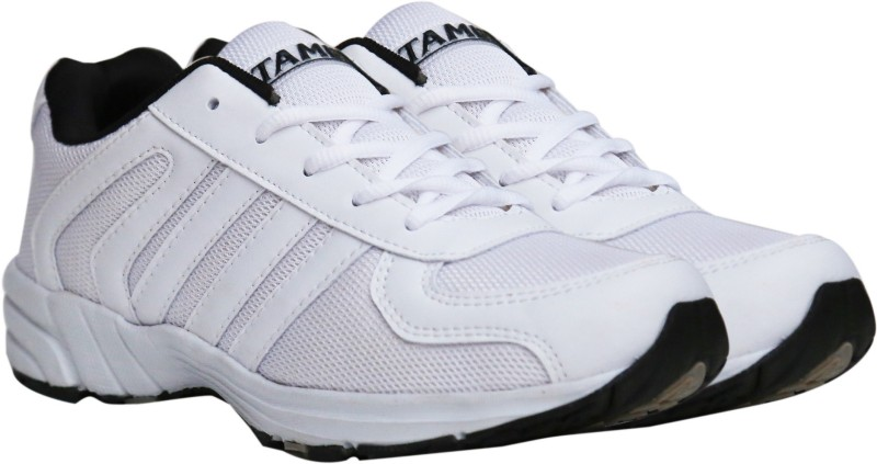 TAMBIC AX970 WHITE RUNNING SPORTS SHOES GYM SHOES TRAINING SHOES FOR MENS Running Shoes For Men(White)