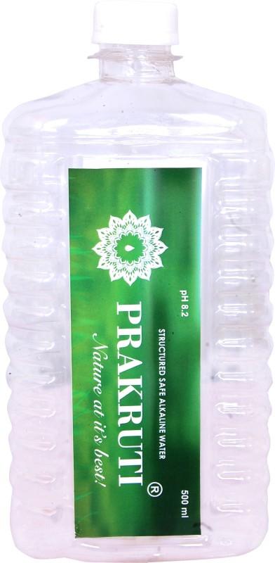 PRAKRUTI P-12P Vapor Distilled(500 ml, Pack of 12)