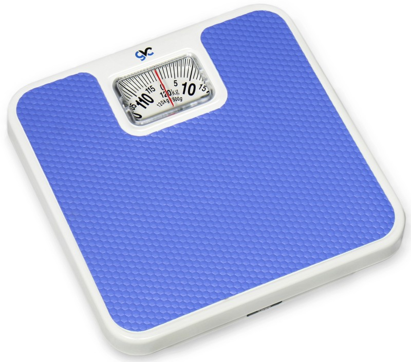 GVC Personal Iron-Analog Weighing Scale(Light Blue)