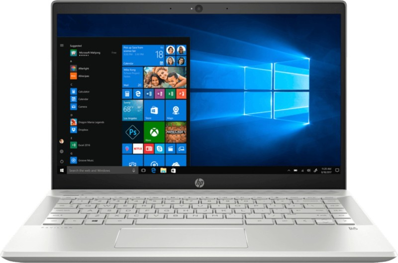 HP CE Core i5 8th Gen - (8 GB/256 GB SSD/Windows 10 Home/2 GB Graphics) CE1000TX Thin and Light Laptop(14 inch, Silver, With MS Office)