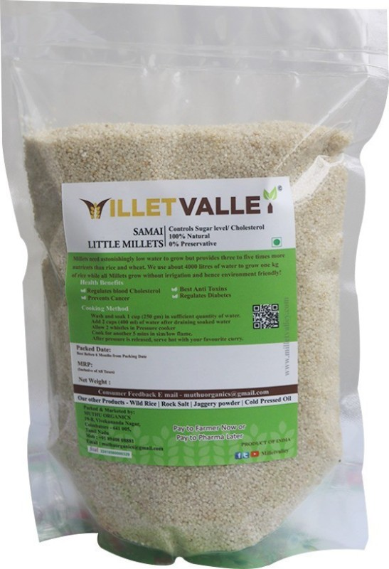 millet valley SAMAI UNPOLISHED Little Millet(800 g)