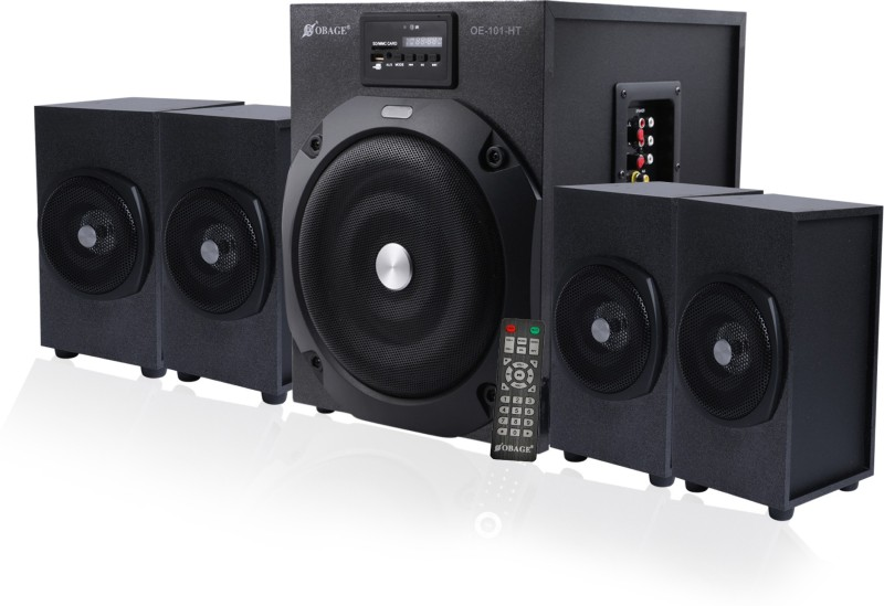 Obage HT-101 4.1 Home Cinema(Bluetooth, USB, FM, AUX)