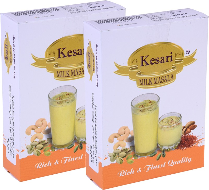 Kesari Rich & Finest Quality Milk Masala 50g, Combo Pack of 2.(2 x 50 g)