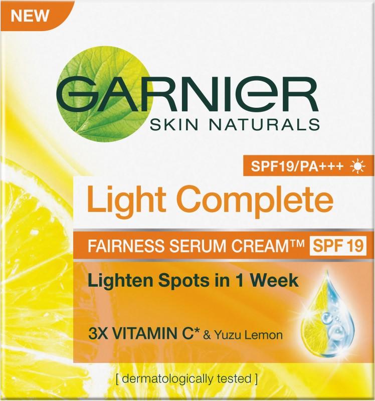 Garnier Light Complete Fairness Serum Cream(45 g)