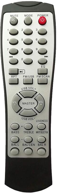 LipiWorld HT2 Home Theater System Remote Control Compatible for CEMEX FM USB Home Theater Remote Controller(Silver)