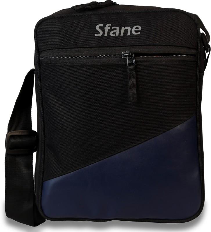 Sfane Black Sling Bag