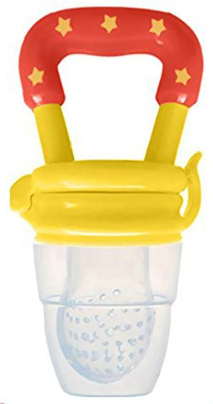 ae Silicone Baby fruit Feeder/BPA Free/Food Feeder/Silicone Food Nibbler/ Baby Soother Feeder(Yellow)