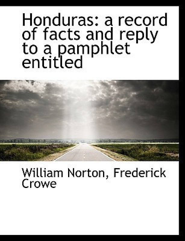 Honduras(English, Paperback, Professor Department of Geography Norton William)
