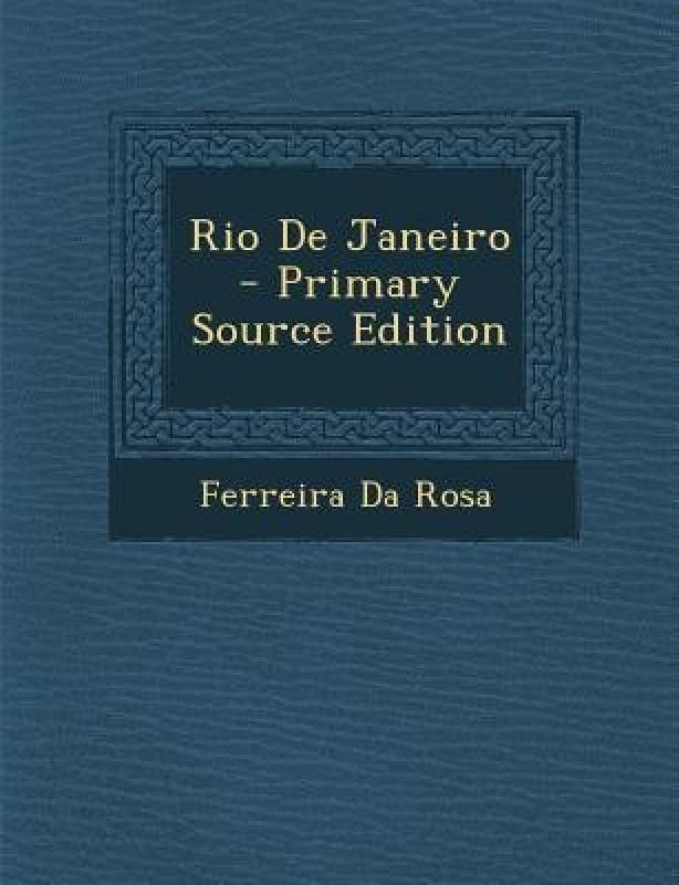 Rio de Janeiro(English, Paperback, Da Rosa Ferreira)