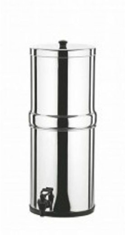 Butterfly 34 Litres SS Water Filter 3400 ml Bottle(Pack of 1, Silver)