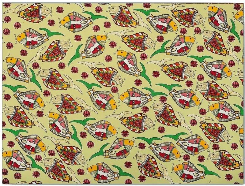 Ratan Jaipur JUNGLEE Printed Handmade Paper Gift Wrapper(Multicolor)