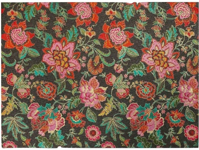 Ratan Jaipur KAVERI Printed Handmade Paper Gift Wrapper(Brown & Yellow)